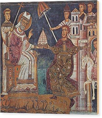 Constantine I (c280-337) Wood Print by Granger