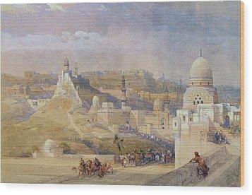 Constantinople Wood Print by David Roberts