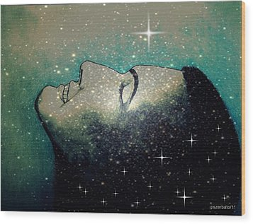 Constellation Of Dreams Wood Print