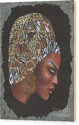 Contemplation Too Wood Print by Alga Washington