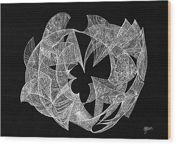 Contentment Wood Print