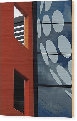 Contrasts In Abstract Wood Print