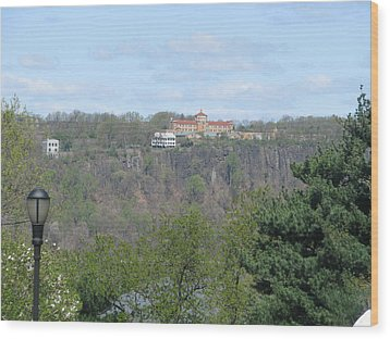 Convent On The Cliffs Wood Print by Hasani Blue