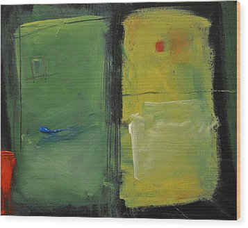 Conversation With Rothko Wood Print by Tim Nyberg
