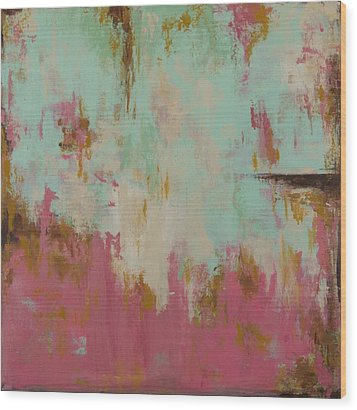 Wood Print featuring the painting Cool Breeze by Suzzanna Frank