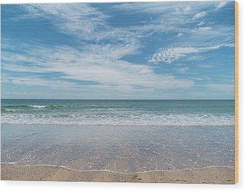 Coonah Waves Wood Print