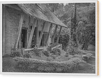 Copo De Leite-mendes-rj Wood Print