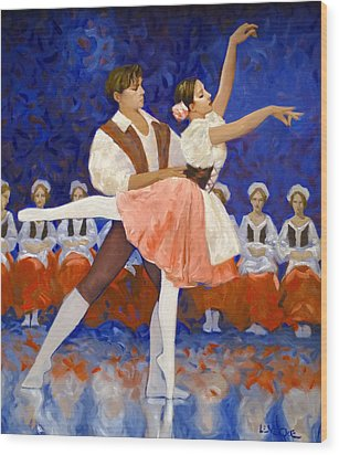 Coppelia Wood Print by Kevin Lawrence Leveque