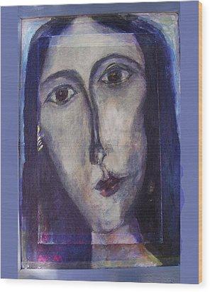 Coptic Wood Print by Noredin Morgan
