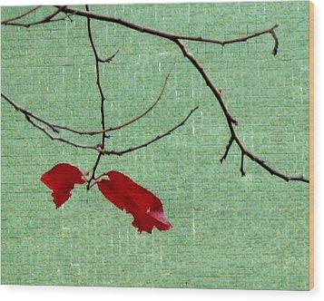 Coquetry Wood Print by Ioana Geacar