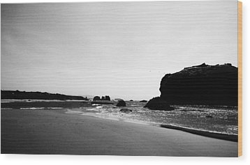 Coquille Point Wood Print