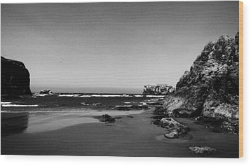 Coquille Point II Wood Print