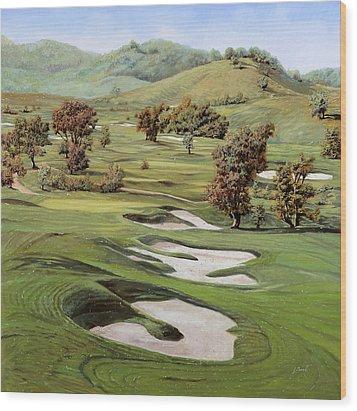 Cordevalle Golf Course Wood Print