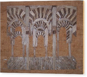 Cordoba Mezquita Wood Print by Joedhi