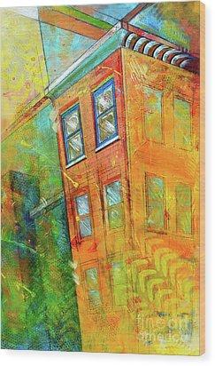 Cornice Wood Print