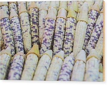 Corns  Wood Print