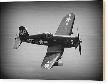 Corsair Flight Wood Print by Kevin Fortier