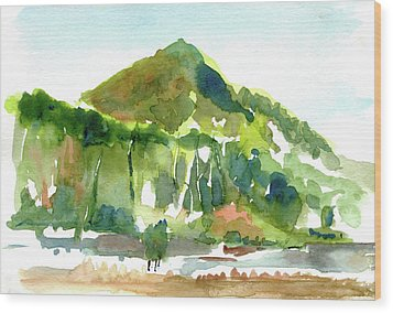 Corte Madera Creek Wood Print