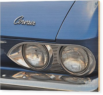 Corvair Wood Print