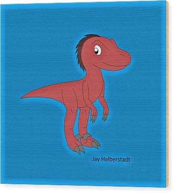 Cory Raptor Wood Print