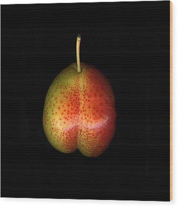 Cosmic Pear Wood Print by Christian Slanec