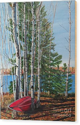 Cottage Country 2 Wood Print