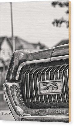 Cougar 1 Wood Print