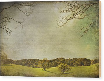 Count On Me Wood Print by Laurie Search