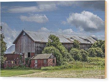 Country Barn Wood Print