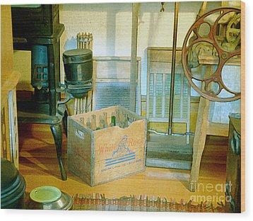 Wood Print featuring the painting Country Kitchen Sunshine II by RC deWinter