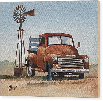 Country Memories Wood Print by James Williamson