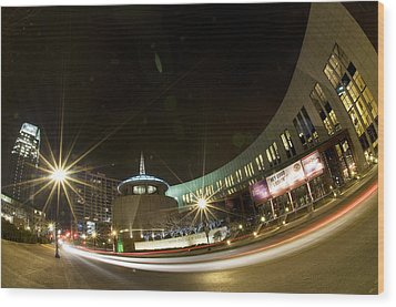 Country Music Hall Of Fame Wood Print by Giffin Photography