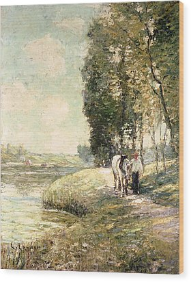 Country Road To Spuyten Wood Print by Ernest Lawson