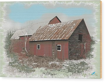 Coventry Barn Wood Print