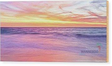 Cow - Mms2.2 Beach Towel Wood Print
