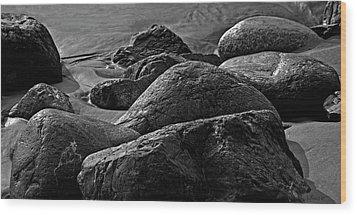 Cox Rocks Wood Print