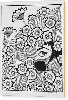 Coy Wood Print