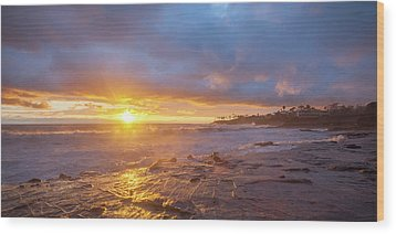 Wood Print featuring the photograph Crack In The Sky by Cliff Wassmann