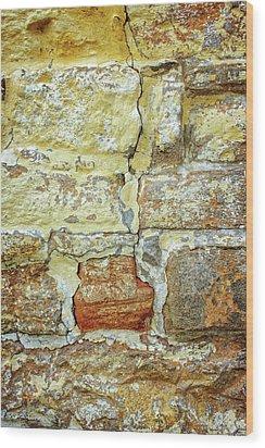 Cracked Wood Print