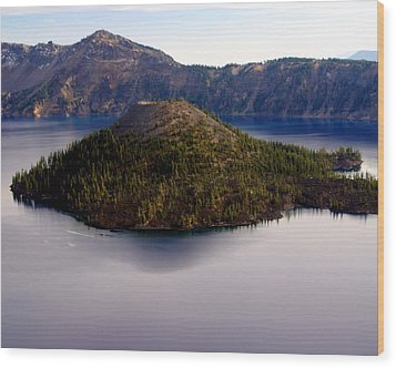 Crater Lake 1 Wood Print by Marty Koch