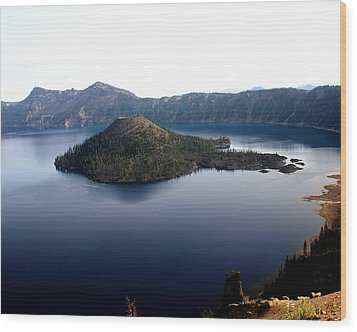 Crater Lake 2 Wood Print by Marty Koch