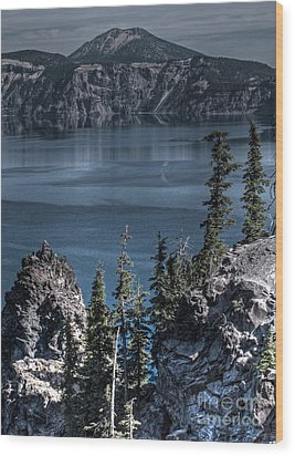 Crater Lake 4 Wood Print