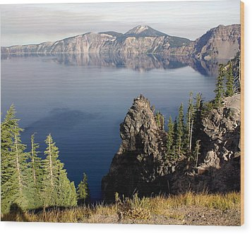 Crater Lake 7 Wood Print by Marty Koch