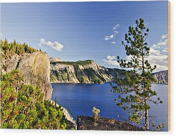Crater Lake II Wood Print