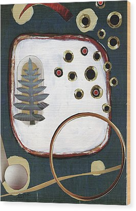 Creation Wood Print by Michal Mitak Mahgerefteh