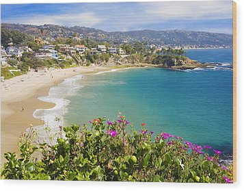 Crescent Bay Laguna Beach California Wood Print
