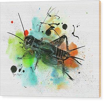 Cricket Wood Print