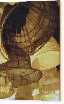 Crinolines Wood Print by Ze DaLuz