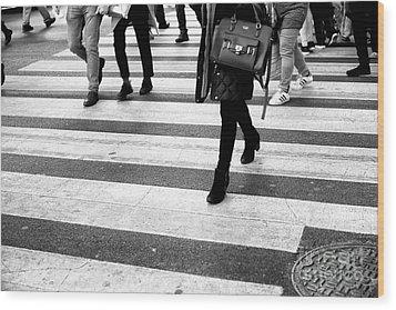 Crossings 237 Wood Print by John Rizzuto