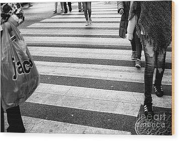 Crossings 238 Wood Print by John Rizzuto